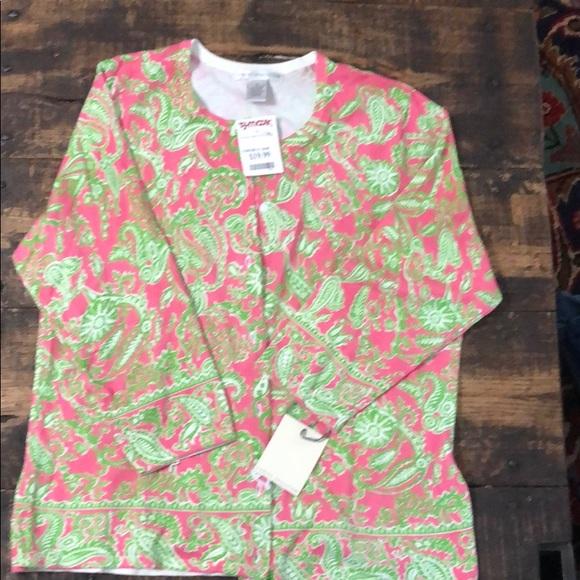 Sarah Spencer Sweaters - Sarah Spencer paisley print sweater